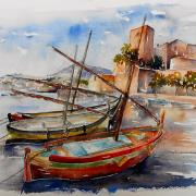 les barques catalanes