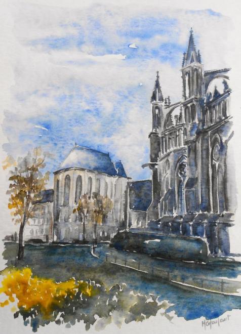 Contrejour à Reims