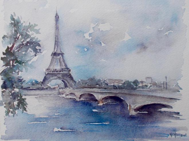 La tour Eiffel 1