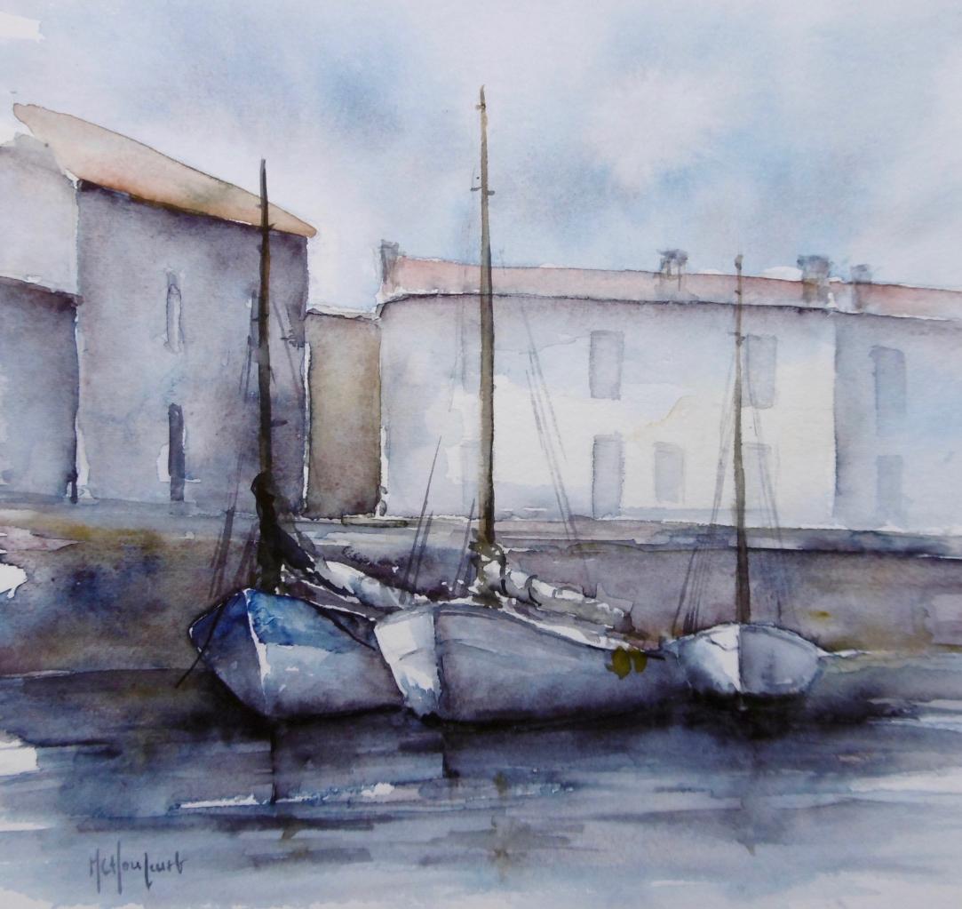 Le port de Mornac sur Seudre
