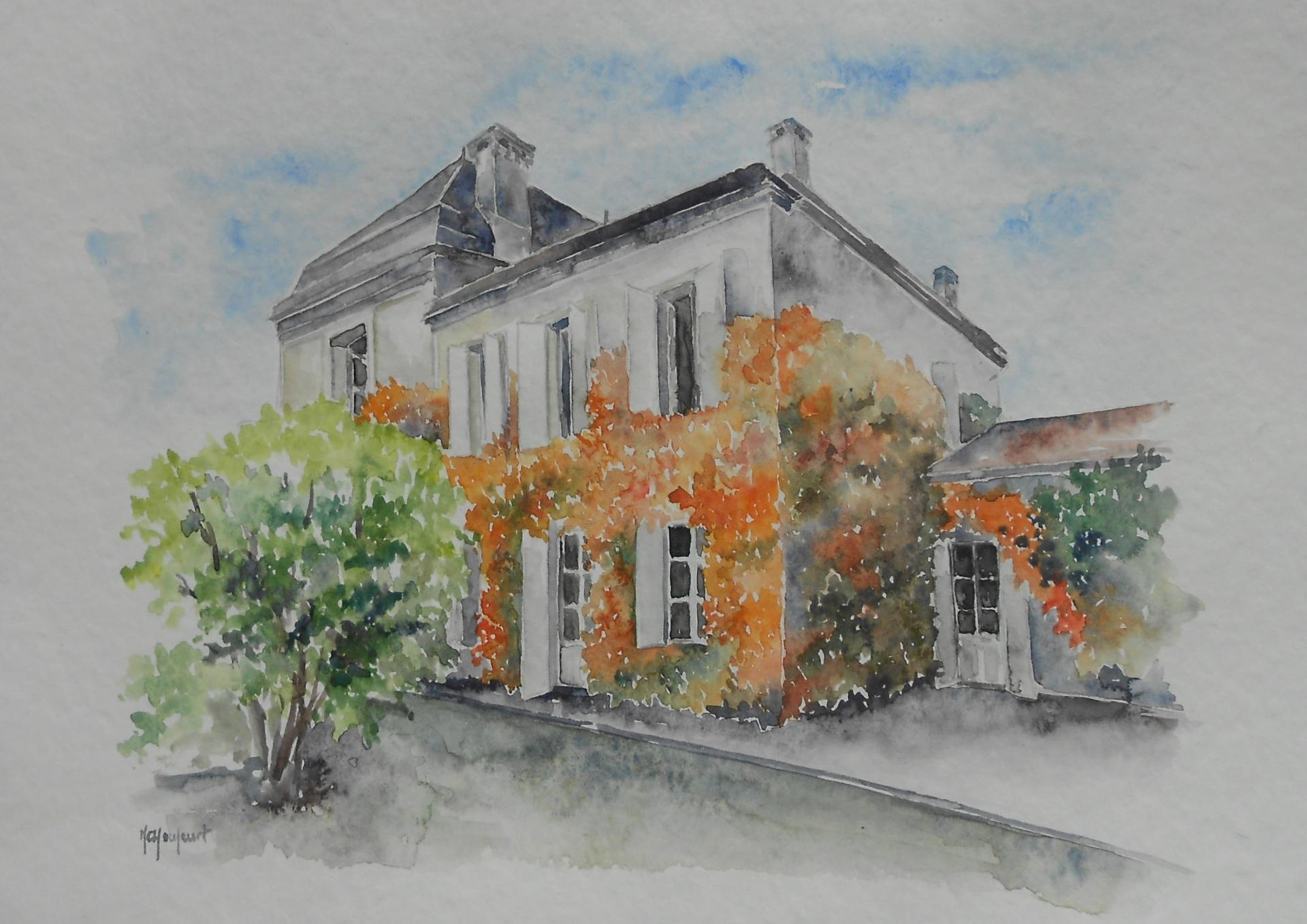 une id e cadeau faites r aliser votre maison l 39 aquarelle